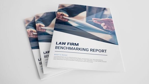 law firm benchmarking results